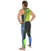 Spike Wetsuit Blue/Green PWC Jet Ski Ride & Race Freestyle