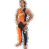 Spike Wetsuit Neon Orange | Closeout Style | PWC Jet Ski Ride & Race Freestyle