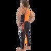 Spike Wetsuit Neon Orange PWC Jet Ski Ride & Race Freestyle