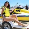 USCG Spike - Yellow Side-Entry Vest PWC Jetski Race