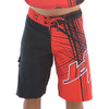 Spike Men's Board Shorts Red | Cargo Pocket Style