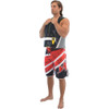 Jazz Men's Board Shorts Red   Youth 28 & 30 Sizes   Closeout