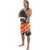 Jazz Men's Board Shorts Orange PWC Jetski Ride & Race Apparel