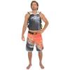 Grain Men's Board Shorts Orange PWC Jetski Apparel (Closeout)