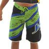 Men's Jazz Shorts - Blue/Green PWC Jetski Ride & Race Apparel