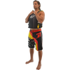 Men's Roadies Shorts - Red/Yellow PWC Jetski Ride & Race Apparel