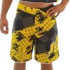Men's Cross Hatch Shorts - Yellow PWC Jetski Apparel (Clearance)