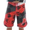 Men's Cross Hatch Shorts - Red PWC Jetski Apparel (Clearance)