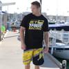 Jet Black T-Shirt PWC Jetski Ride & Race Apparel