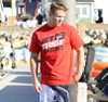 Jet Red T-Shirt PWC Jetski Ride & Race Apparel