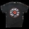 Vinyl T-Shirt Black PWC Jetski Ride & Race Apparel