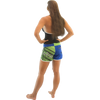Spike Ladies' Shorts - Blue / Green  PWC Jetski Apparel (Clearance)
