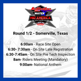 Packing up for the 40th Anniversary Jettrim IJSBA World Finals October 2-10, 2021