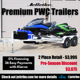 Jettribe Texas is now a licensed PWC Trailer Dealership