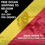 Free Sea Shipping to Belgium + 15% Orders - March 2020