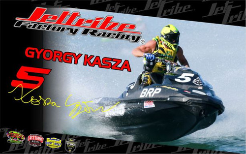 Rider Poster - Gyorgy Kasza PWC Jetski Ride & Race Accessories