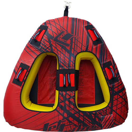 Triangle Towable - Spike Red PWC Jetski Ride & Race Recreation