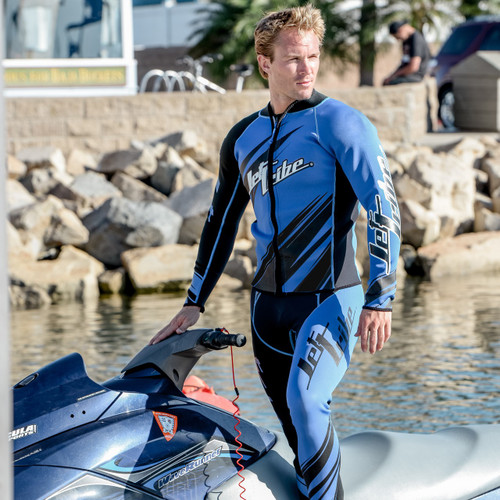 Sharpened Blue Wetsuit | PWC Jet Ski Ride & Race Freestyle