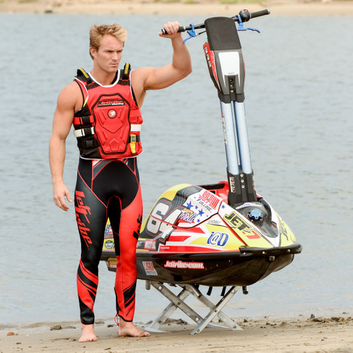 RS-18P Side Entry Impact Vest | Red | Customization Option | PWC Jetski Race