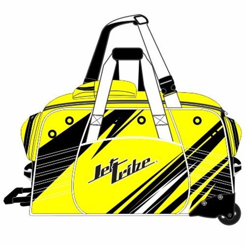 Day 10 Rolling Gear Bag Sharpened - Yellow PWC Jetski Race Gear
