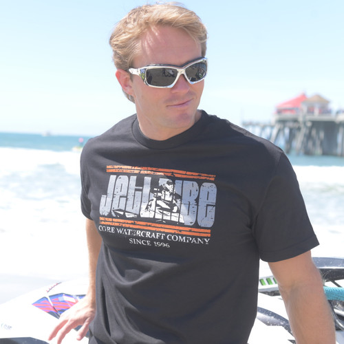 Sit Down Scene T-Shirt - Black PWC Jetski Ride & Race Apparel