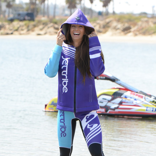 *Factory Second* Ladies Tour Coat Newport Purple  | Neoprene Jacket | PWC Jetski Ride & Race