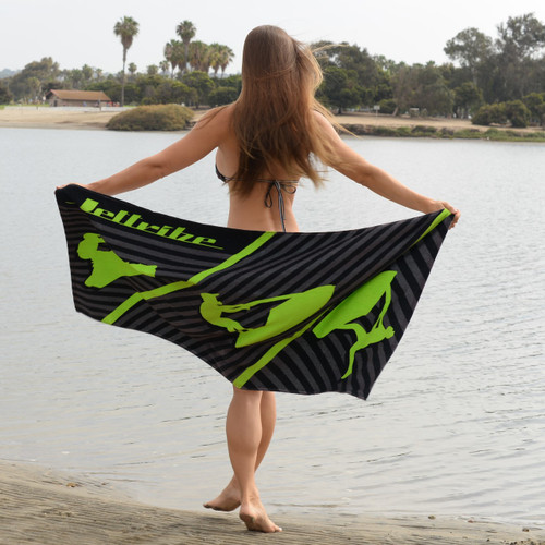 NEW 2020 Beach Towel | Larger 73 Inch Size | Soft Microfiber
