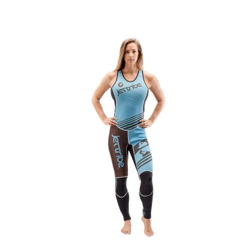 Teal Newport Ladies Wetsuit John | Sleeveless John Only (Final Clearance)