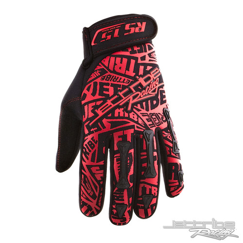 Vertigo Red Gloves PWC Jetski Ride & Race Jet Ski Gear (2XL Only)
