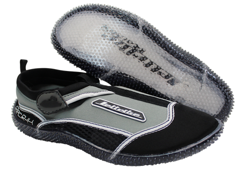 Rec R-14 Ride Shoes | Grey / Black | Water Shoes | PWC Jetski Ride Gear