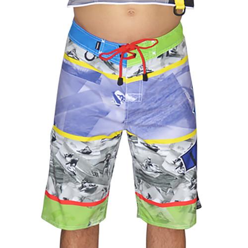 Skittles Men's Board Shorts PWC Jetski Ride & Race Apparel