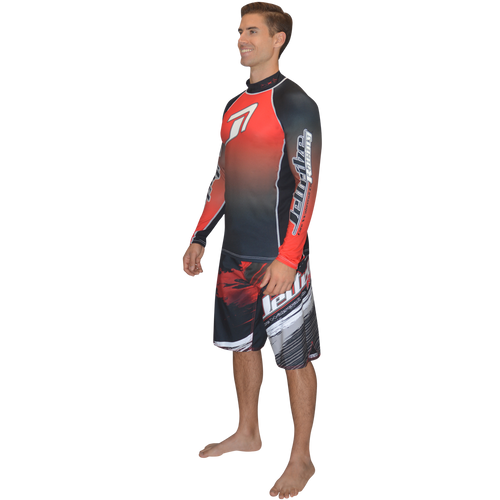Longsleeve Classic Rashguard - Red | Closeout (Size Small Only)