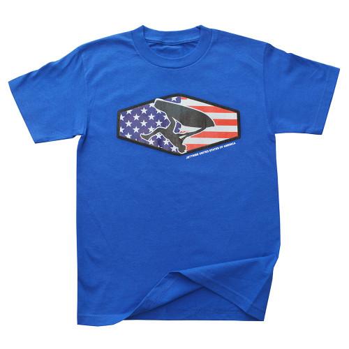 Men's Freestyle Stars T-Shirt PWC Jetski Ride & Race Apparel