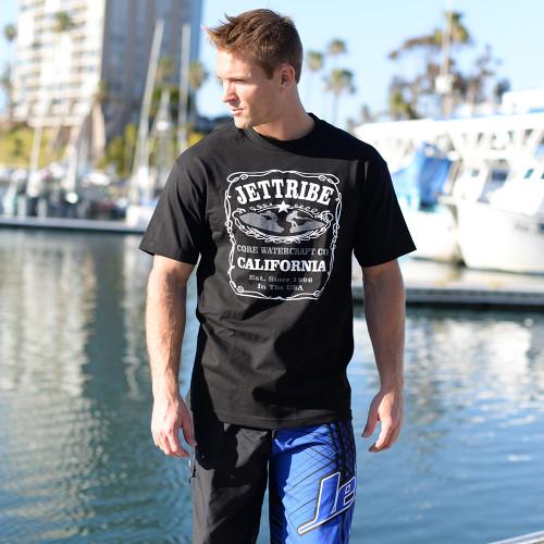 Men's Jettribe Label T-Shirt PWC Jetski Ride & Race Apparel