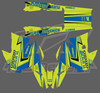Turbo Dynamics full sled wraps for Yamaha 2017-2021+ by R12 design