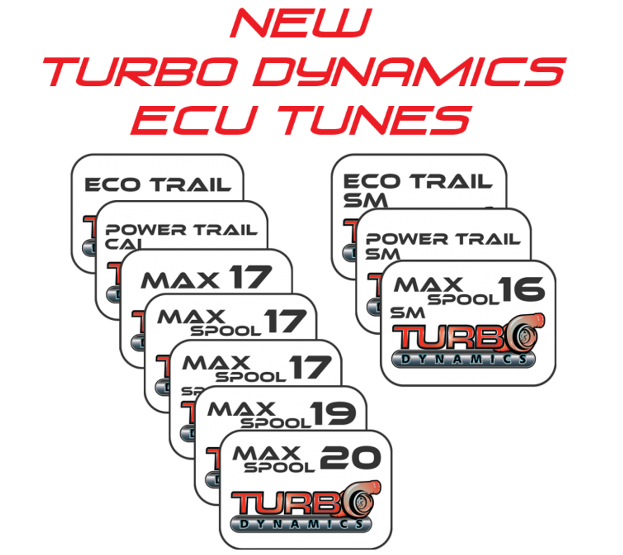 NEW Turbo Dynamics ECU tunes