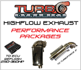 TD High flow muffler and race kits 250HP-360HP