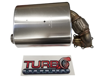 TD 2017 to 2021+ Stock Modified muffler stage 2 for Arctic Cat zr9000 and Yamaha Sidewinder
