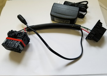 BRP 900 ACE Turbo Bench harness for dealers or flashing outside the snowmobile.
