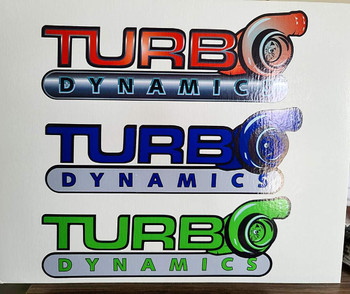Turbo Dynamics Decals/ Sticker 3M
