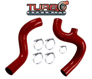 TD HD 998 turbo silicone intercooler charge tubes (many colors available)