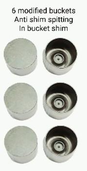 TD modified valve bucket kit (anti shim spitting 6 total )
