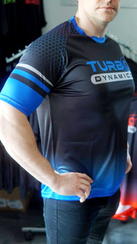 Turbo Dynamics 2020 High end sport custom T-shirt  (new hot style, new logo)