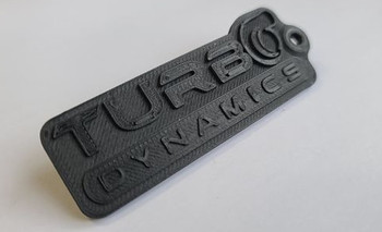 Turbo Dynamics Carbon Fiber Composite Key Chain