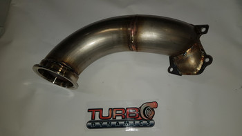 """TD 3"""" V-band straight pipe to go with TD 3"""" highflow v-band outlet"""