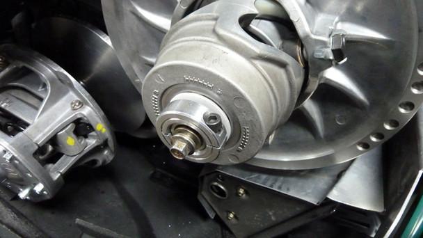 TD Belt adjuster and floating adapter