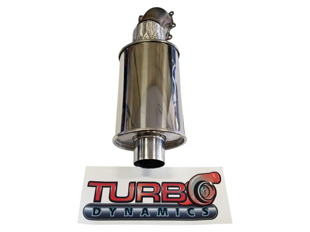 2017 2018 Turbo Dynamics TurboForce 2.5 exhaust system for Thundercat Sidewinder ZR9000 turbo
