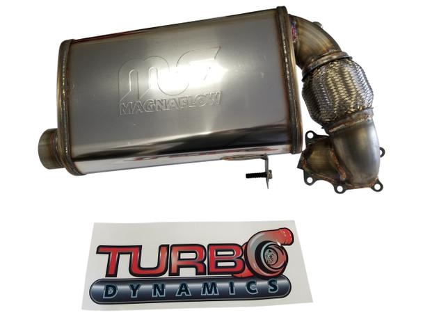 Turbo Dynamics Super Quiet muffler for SRX Thundercat Sidewinder ZR9000 2017 to 2021