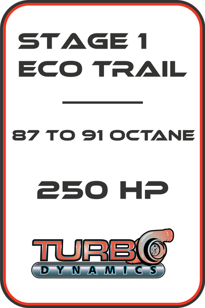 TD Ecotrail  250HP ECU reflash for 2017 2018 2019 2020 Sidewinder SRX and AC Thundercat ZR9000