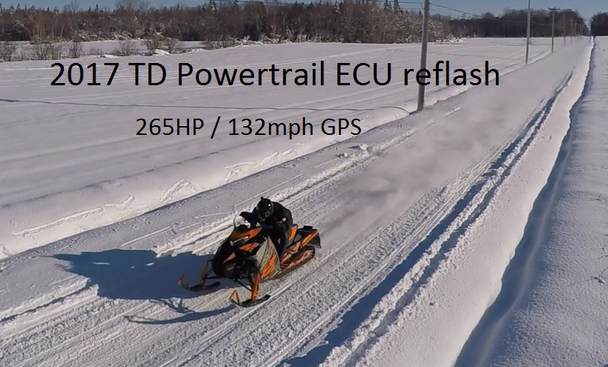 2017 to 2020  Powertrail 270HP ECU reflash for Sidewinder SRX and ZR9000 / Thundercat
